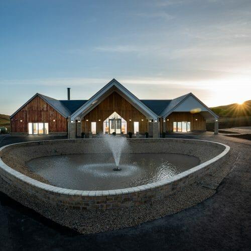 Clyde Coast Crematorium Fountain