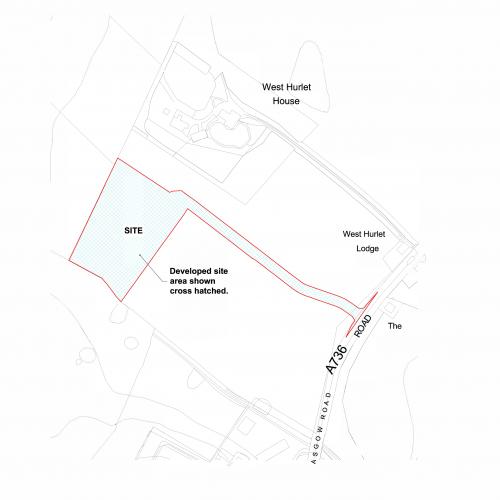 Hurlet Crematorium Site Plan