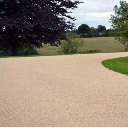 Resin-bonding gravel will be used on the footpaths, providing a softer and more gentle feel.