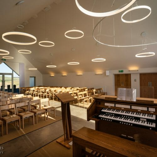 The Ceremony Hall at the Clyde Coast & Garnock Valley - Simple Design and a Tranquil Ambience